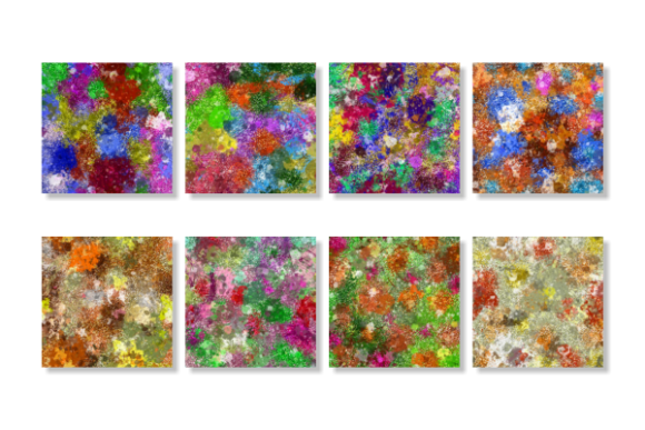 Print on Demand: Splattered Grunge Paint Texture Papers Graphic Textures By Prawny - Image 4