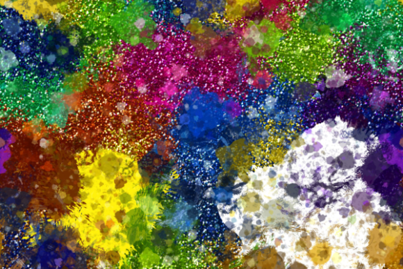 Print on Demand: Splattered Grunge Paint Texture Papers Graphic Textures By Prawny - Image 6