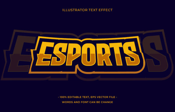 Text Effect - Esports Graphic Add-ons By aalfndi