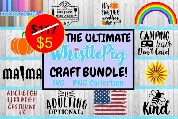 Print on Demand: The Ultimate Whistlepig Craft Bundle  By Whistlepig Designs