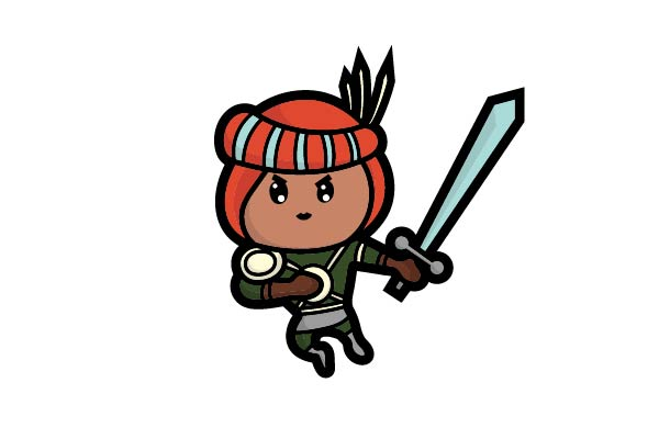 Download Free The Adorable Persian Warrior Graphic By Firdausm601 Creative for Cricut Explore, Silhouette and other cutting machines.