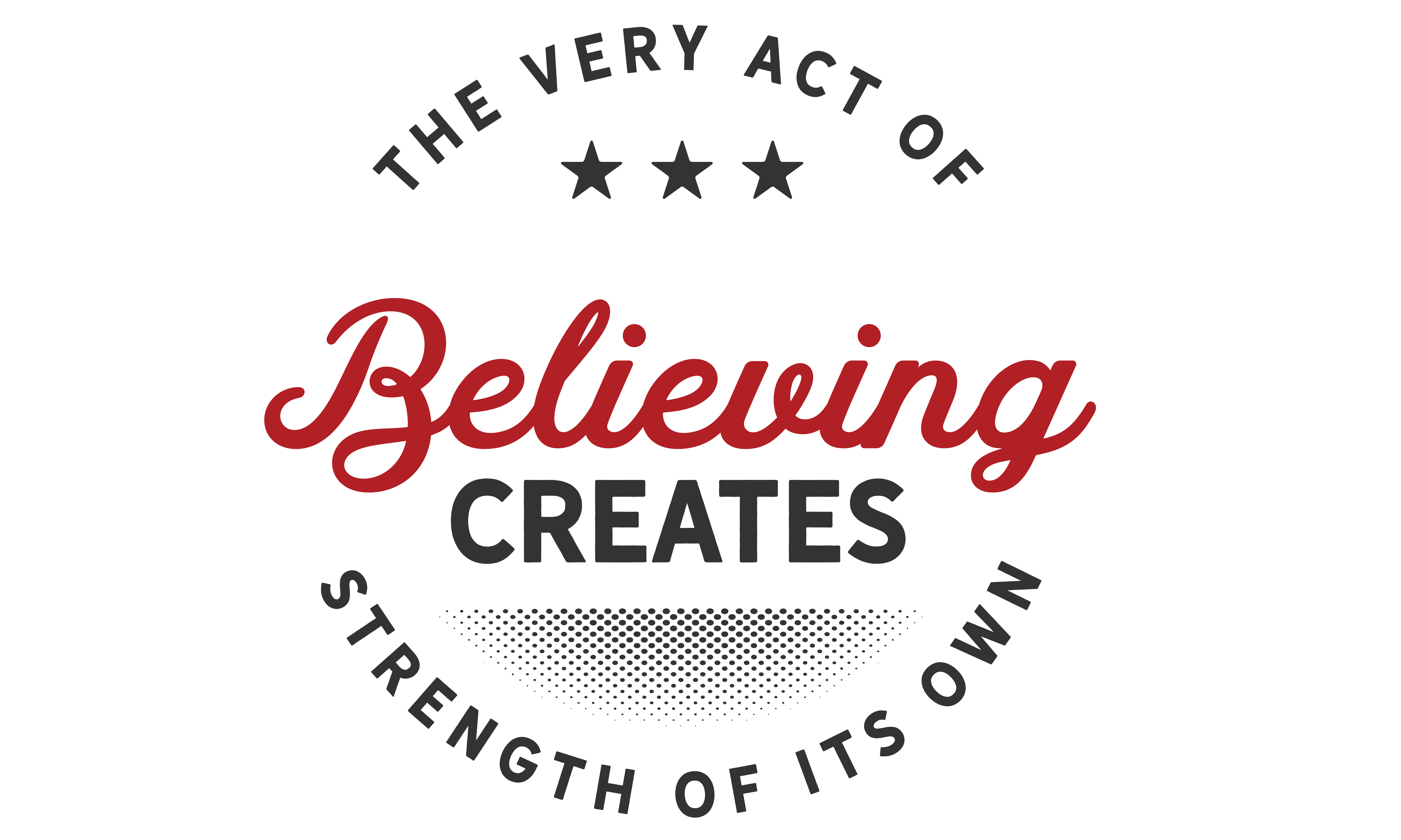 Download Free The Very Act Of Believing Graphic By Baraeiji Creative Fabrica for Cricut Explore, Silhouette and other cutting machines.