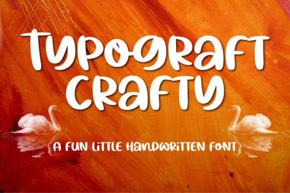 Print on Demand: Typograft Crafty Script & Handwritten Font By BitongType