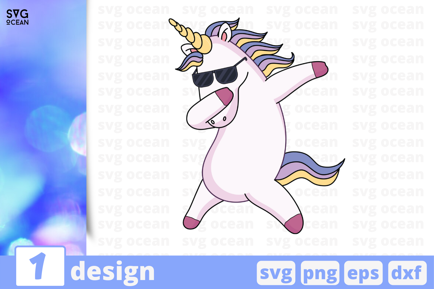 Download Free Unicorn Graphic By Svgocean Creative Fabrica for Cricut Explore, Silhouette and other cutting machines.