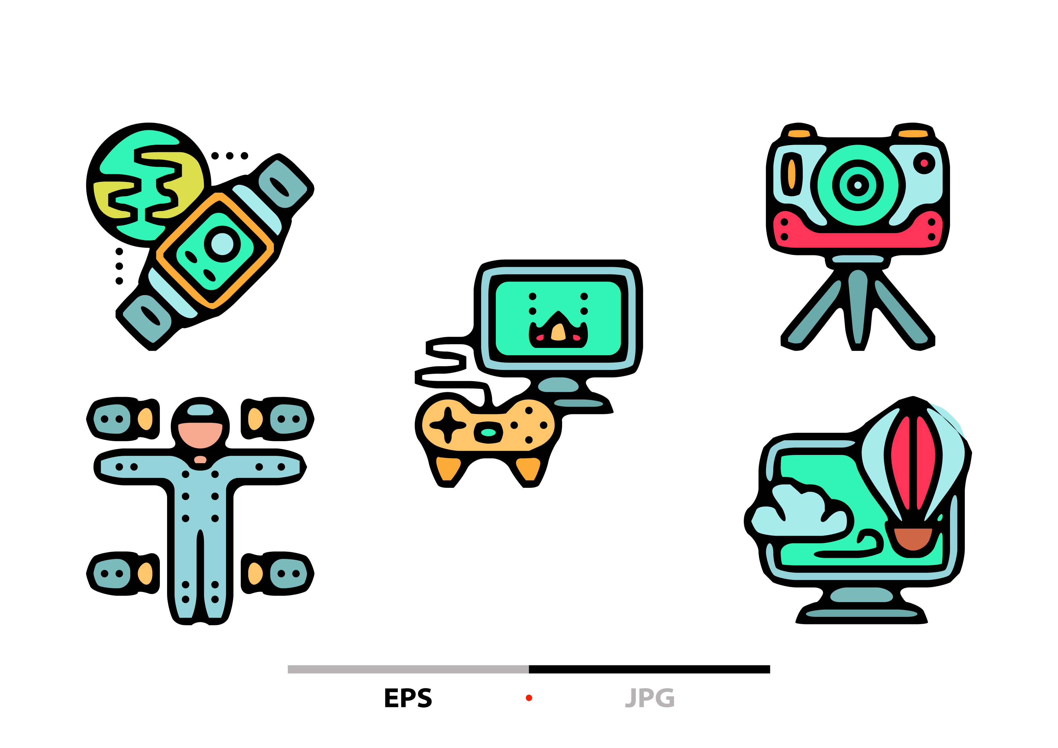 Download Free Virtual Reality Abstract Graphic By Sayangnadyapkm3 Creative for Cricut Explore, Silhouette and other cutting machines.