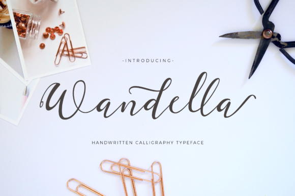 Print on Demand: Wandella Script & Handwritten Font By Unicode Studio