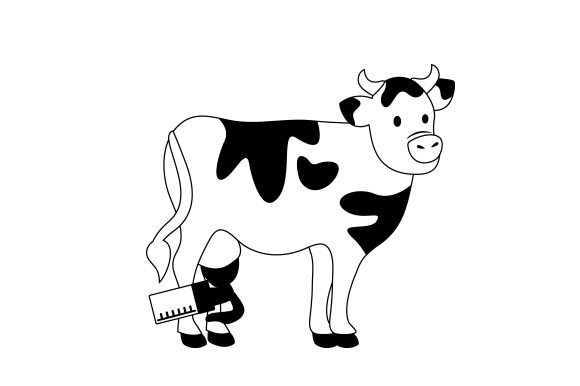 Cow With Breastpump Svg Cut File By Creative Fabrica Crafts Creative Fabrica