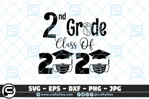 2nd Grade Class of 2020 Toilet Paper Graphic Crafts By Crafty Files