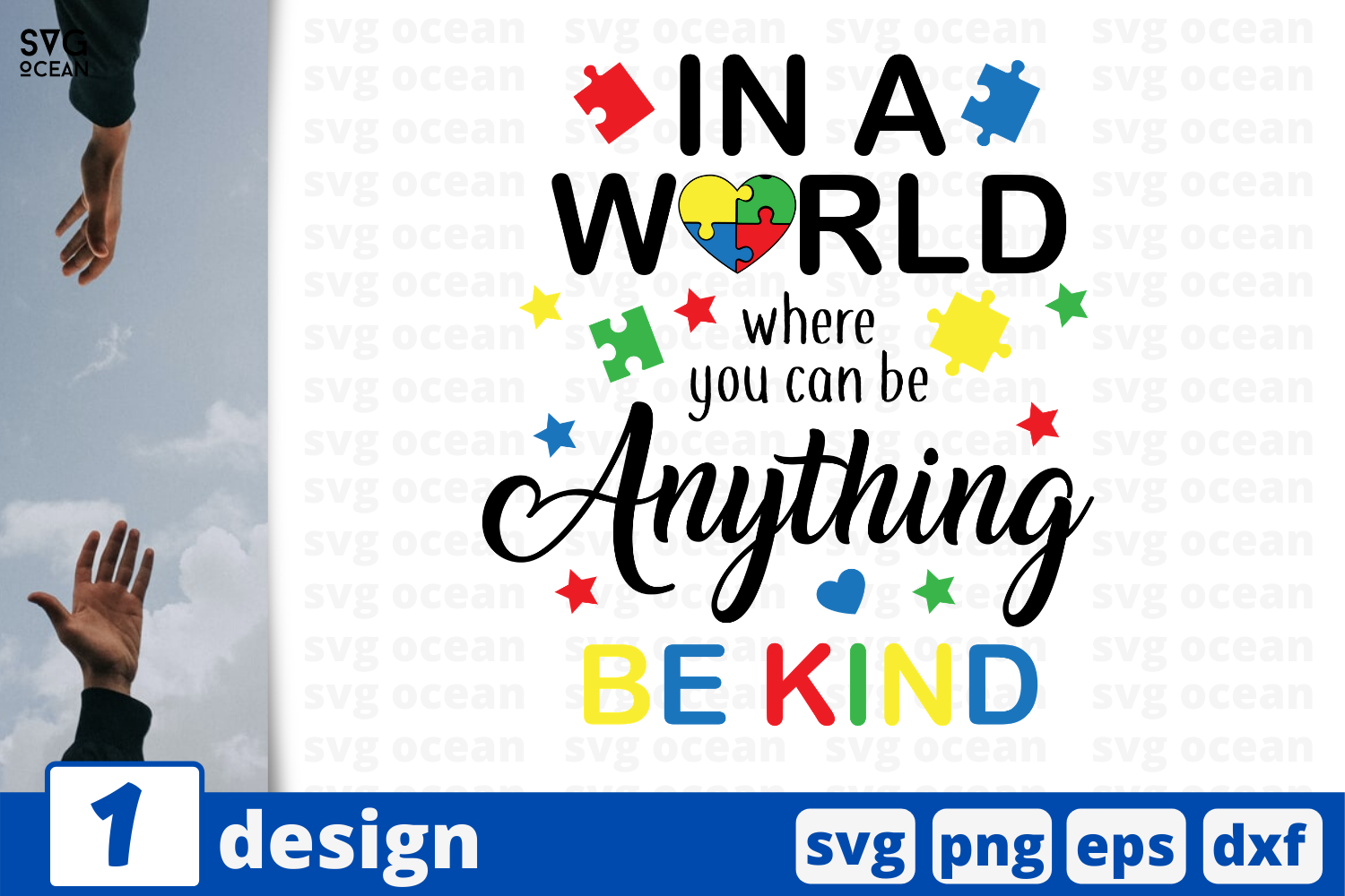 Download Free Anything Be Kind Quote Graphic By Svgocean Creative Fabrica for Cricut Explore, Silhouette and other cutting machines.