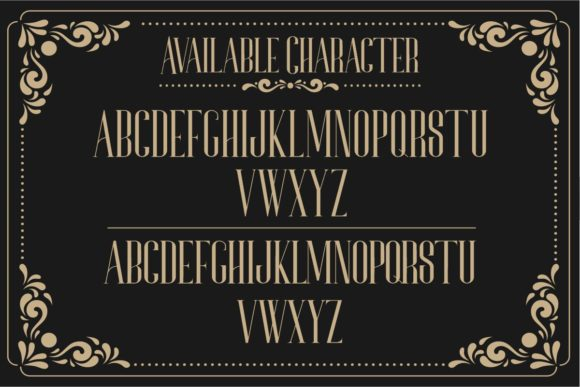 Print on Demand: Bonjour Serif Font By Gilar Studio - Image 2