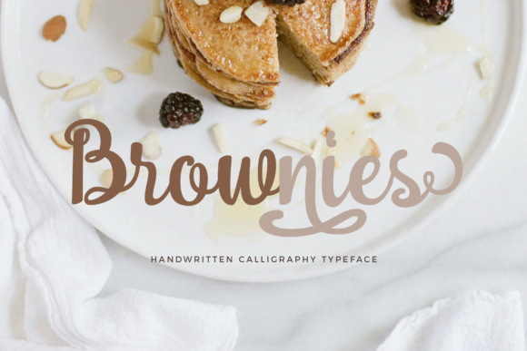 Print on Demand: Brownies Script & Handwritten Font By Unicode Studio