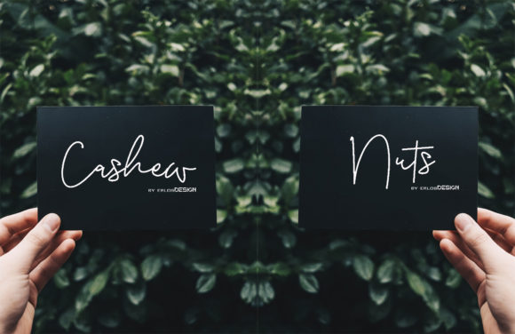 Cashew Nuts Font Download