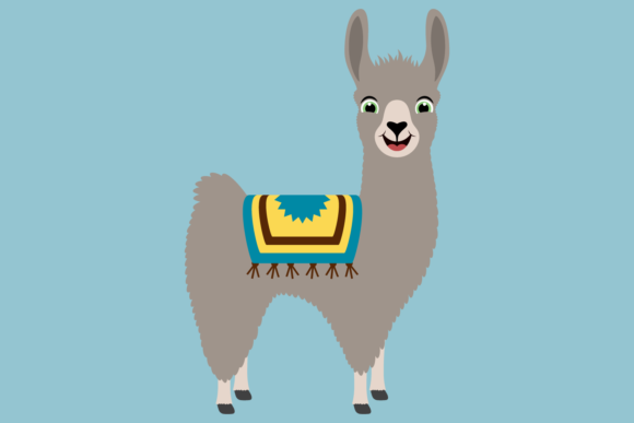 Download Free Cute Boy Llama With Cacti Graphic By Captaincreative Creative for Cricut Explore, Silhouette and other cutting machines.