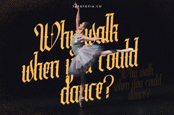 Print on Demand: Cydonia Blackletter Font By typotopia - Image 2