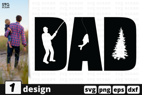 Download Free Dad Quote Graphic By Svgocean Creative Fabrica for Cricut Explore, Silhouette and other cutting machines.