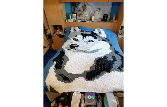 Double Husky Blanket Pattern Graphic Crochet Patterns By Katrina Oldham - Image 1