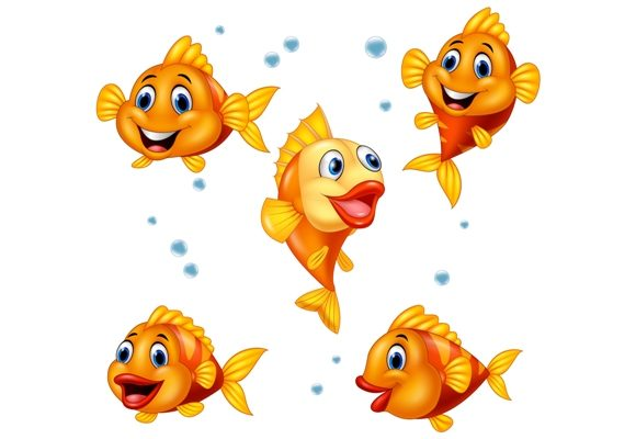 Fish ClipArt Set Graphic Graphic Illustrations By tigatelusiji