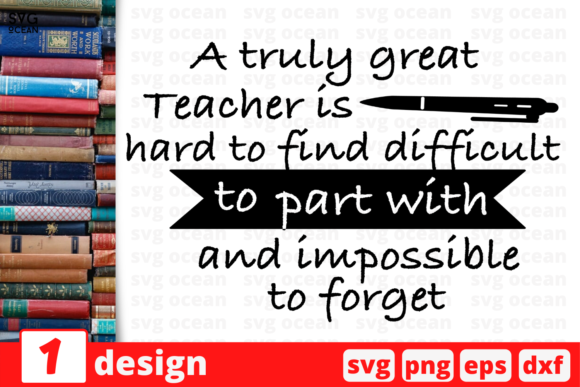 Download Free Great Teacher Voice Quote Graphic By Svgocean Creative Fabrica for Cricut Explore, Silhouette and other cutting machines.