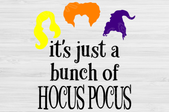 Download Free Halloween Hocus Pocus Graphic By Tiffscraftycreations Creative for Cricut Explore, Silhouette and other cutting machines.