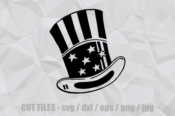 Download Free July Fourth Usa Patriotic Hat Cut File Graphic By Prawny SVG Cut Files