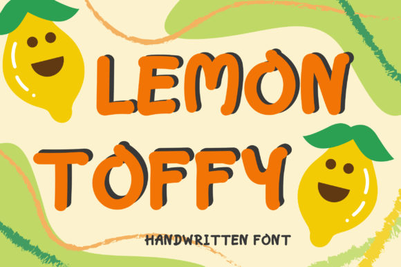 Download Free Lemon Toffy Font By Pearlydaisy Creative Fabrica for Cricut Explore, Silhouette and other cutting machines.