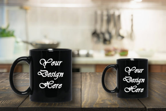 Mockup Black Mug Graphic Product Mockups By MockupsByGaby