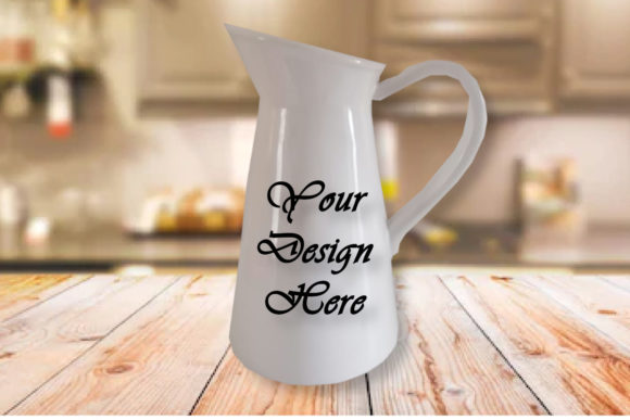 Mockups White Mugs / Vase / Cup Graphic Product Mockups By MockupsByGaby
