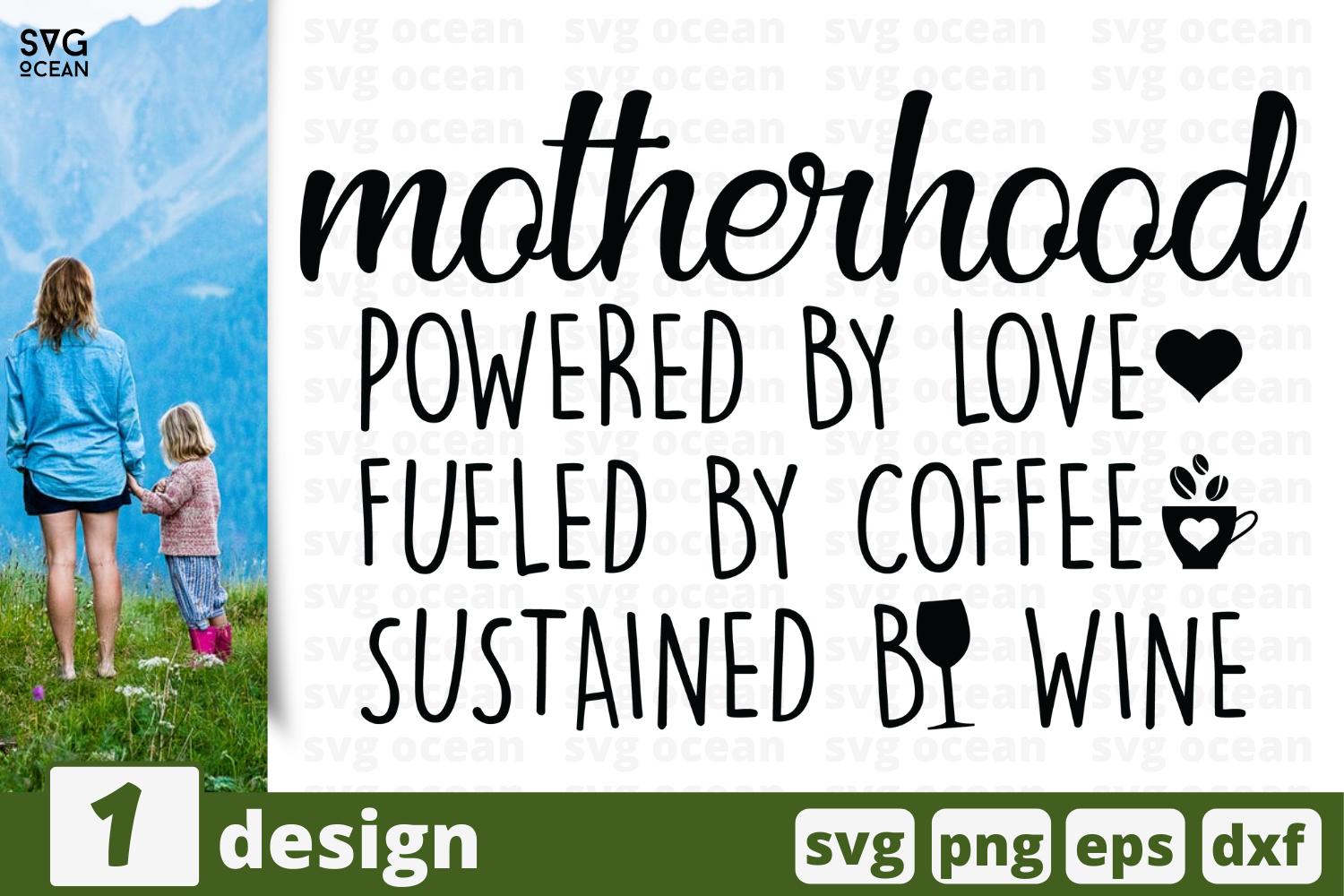 Download Free Motherhood Quote Graphic By Svgocean Creative Fabrica for Cricut Explore, Silhouette and other cutting machines.