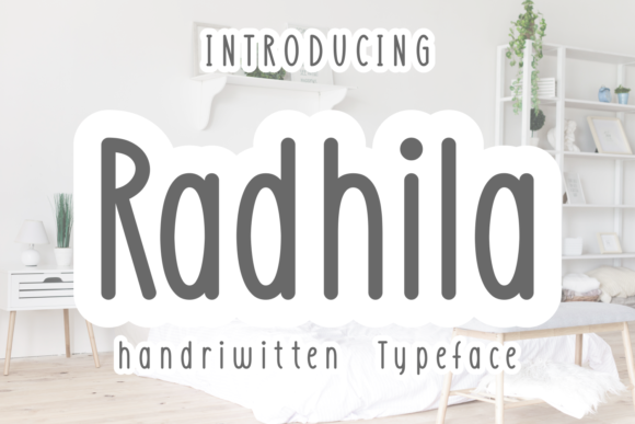 Print on Demand: Radhila Script & Handwritten Font By Kelik - 7NTypes