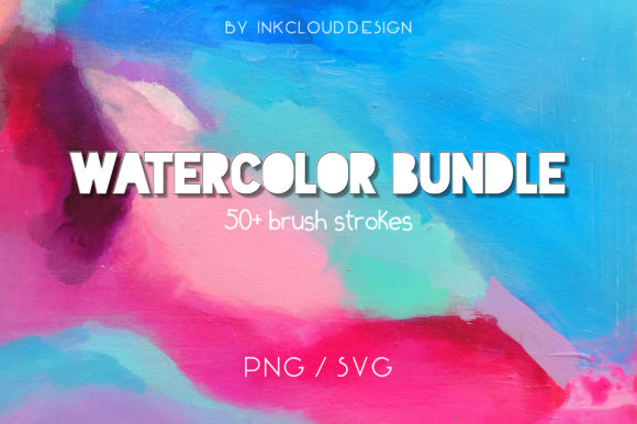 Download Free Svg Bundle Watercolor Paint Splash Graphic By Inkclouddesign for Cricut Explore, Silhouette and other cutting machines.