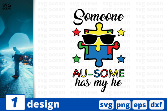 Download Free Someone Au Some Has My He Graphic By Svgocean Creative Fabrica for Cricut Explore, Silhouette and other cutting machines.