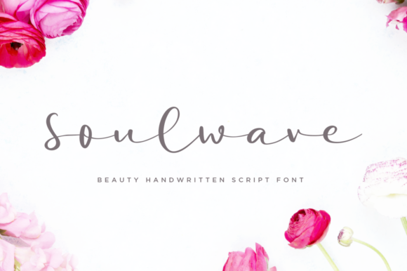 Print on Demand: Soulwave Script & Handwritten Font By Haksen