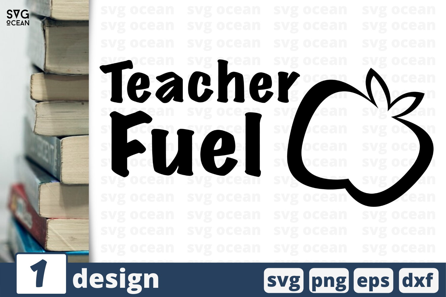 Download Free Teacher Fuel Graphic By Svgocean Creative Fabrica for Cricut Explore, Silhouette and other cutting machines.