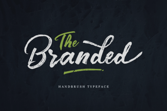 Print on Demand: The Branded Script & Handwritten Font By Unicode Studio