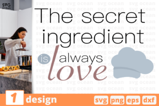 Download Free To Secret Ingredient Love Graphic By Svgocean Creative Fabrica for Cricut Explore, Silhouette and other cutting machines.