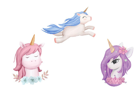 Unicorn and Friends + Clipart  Graphic Illustrations By alolieli - Image 2