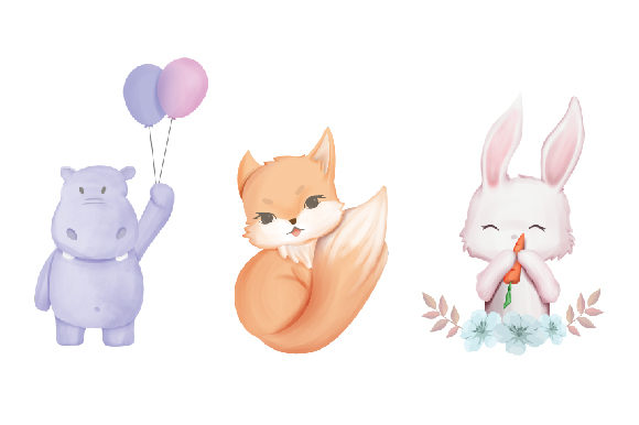 Unicorn and Friends + Clipart  Graphic Illustrations By alolieli - Image 3