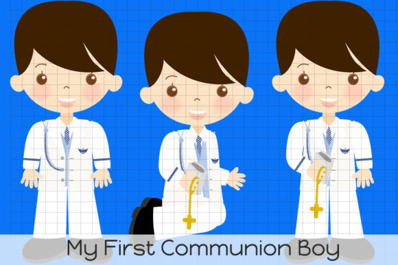 Download Free Vm My First Communion Boy Graphic By Dolls To Go Creative Fabrica for Cricut Explore, Silhouette and other cutting machines.