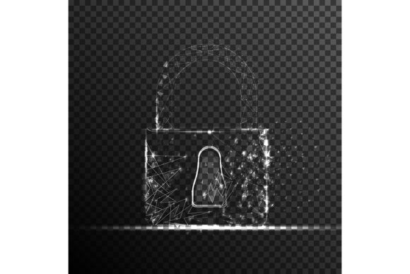 Download Free Padlock Lock Security System Graphic By Ojosujono96 Creative for Cricut Explore, Silhouette and other cutting machines.