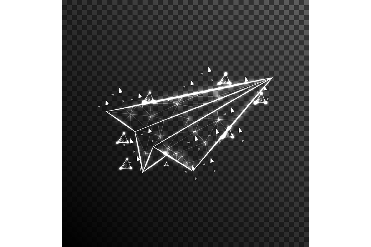 Download Free Paper Plane Graphic By Ojosujono96 Creative Fabrica for Cricut Explore, Silhouette and other cutting machines.