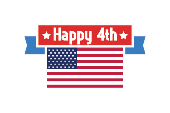 Happy 4th Independence Day Craft Cut File By Creative Fabrica Crafts