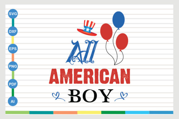 4th of July Design Graphic Crafts By Galaxy Aart