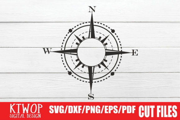 Download Free Adventure Compass Monogram Graphic By Ktwop Creative Fabrica for Cricut Explore, Silhouette and other cutting machines.