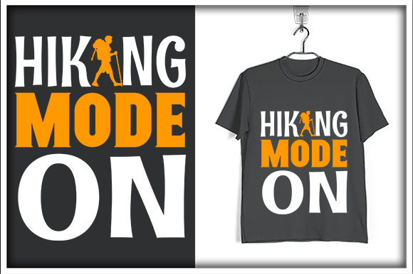 Download Free Adventure T Shirt Design Hiking Mode On Graphic By Svg Hut for Cricut Explore, Silhouette and other cutting machines.