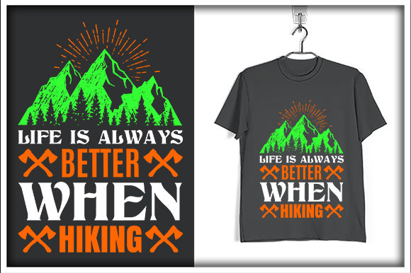 Download Free Adventure T Shirt Design Life Is Always Graphic By Svg Hut for Cricut Explore, Silhouette and other cutting machines.