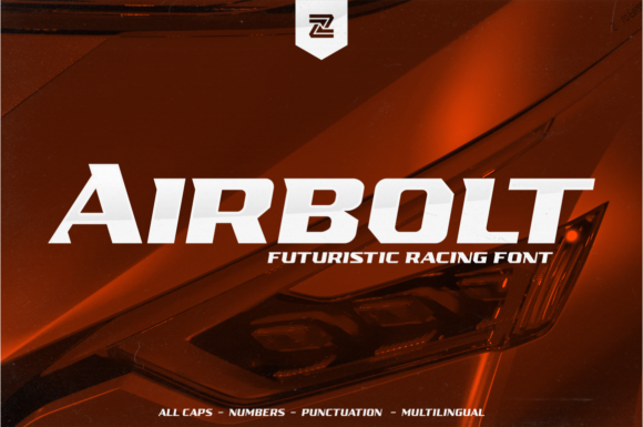 Print on Demand: Airbolt Display Schriftarten von zealab fonts division