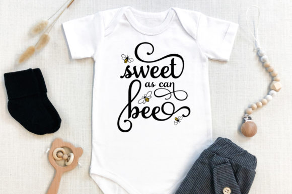Print on Demand: Baby - Sweet As Can Bee Graphic Crafts By Simply Cut Co