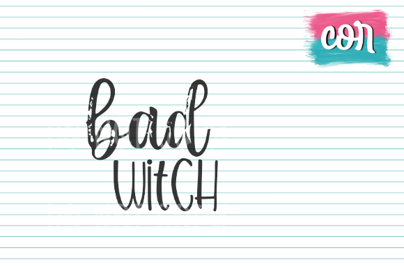 Download Free Bad Witch Graphic By Designscor Creative Fabrica for Cricut Explore, Silhouette and other cutting machines.