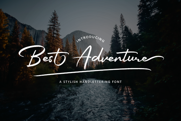 Download Free Best Adventure Font By Abstudiomagetan321 Creative Fabrica for Cricut Explore, Silhouette and other cutting machines.