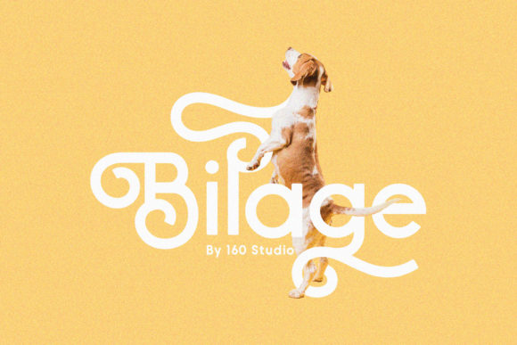 Print on Demand: Bilage Script & Handwritten Font By 160 Studio